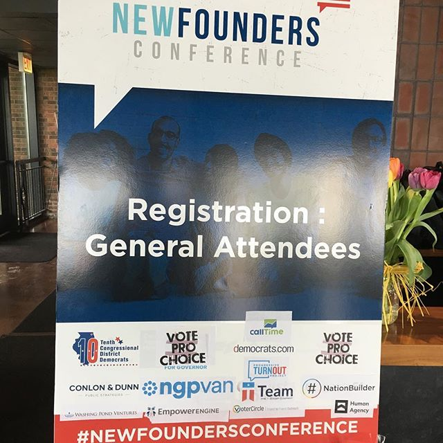 @phillipdperry is at the #newfoundersconference today soaking up the latest innovation and technology that's powering progressive wins across the country.