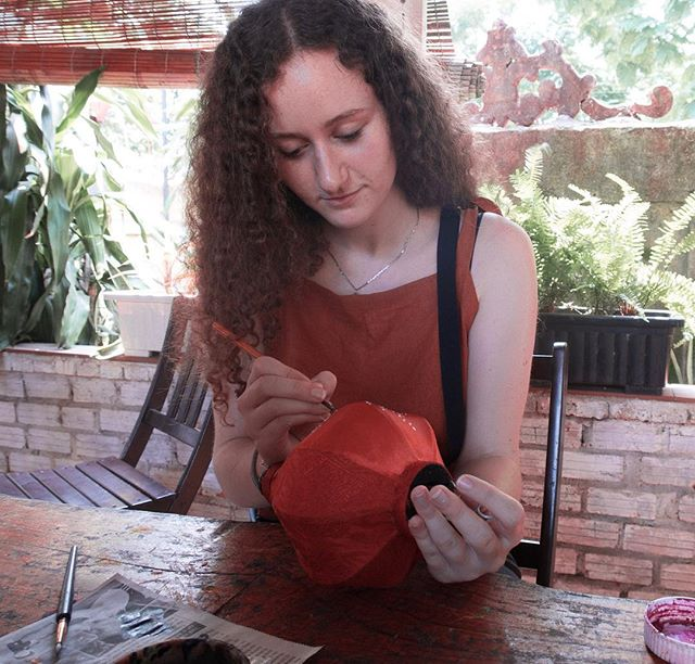 Lantern-making in Hoi An was one of the highlights of our time there! It's such an impressive craft and surprisingly hard to do🙈