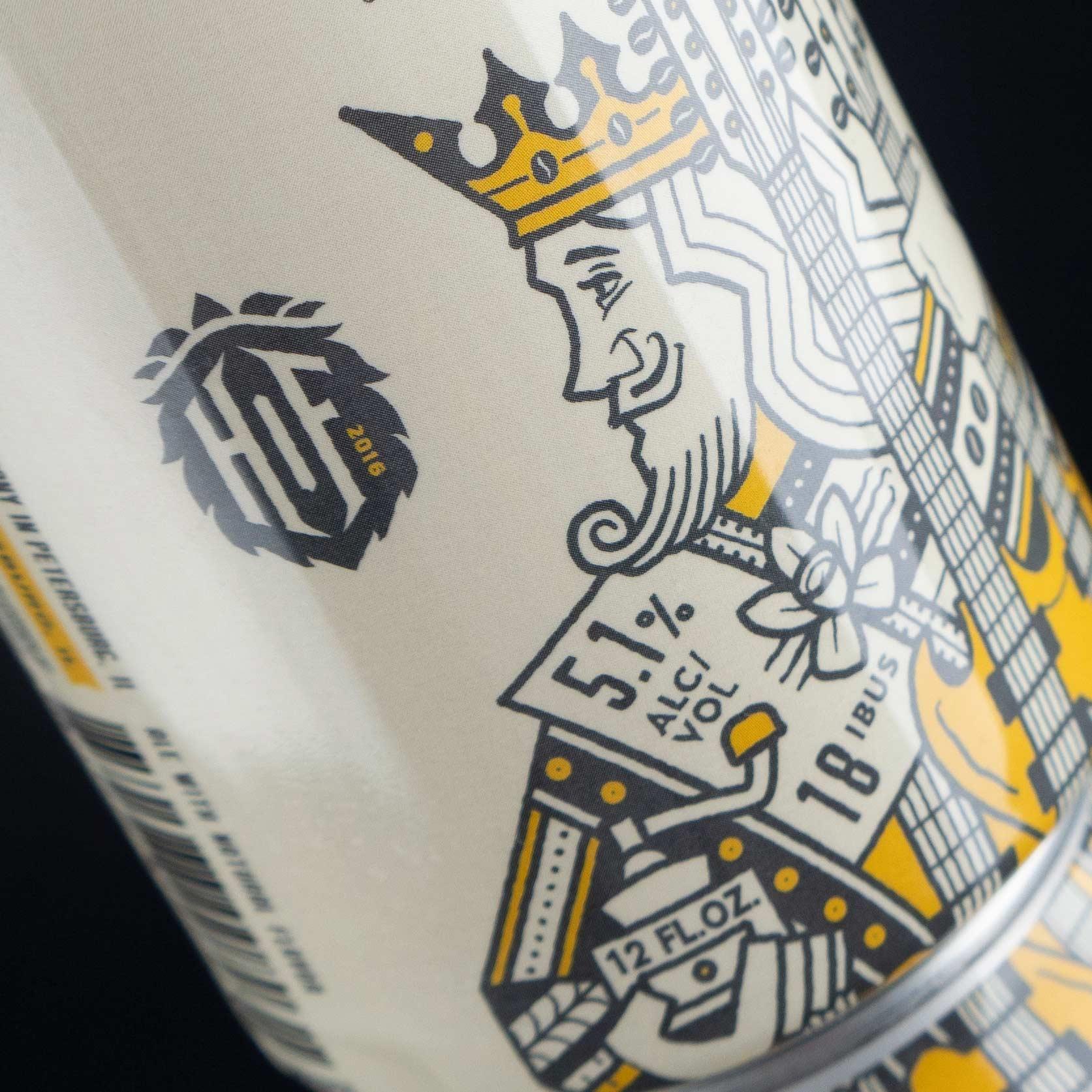 Double Bean Dream Cream Ale and Hand of Fate logo icon.