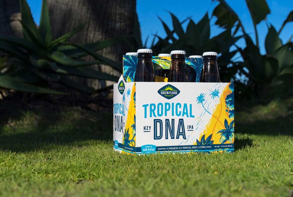 Photo Credit: Green Flash Brewing Co. | Tropical DNA Hazy IPA