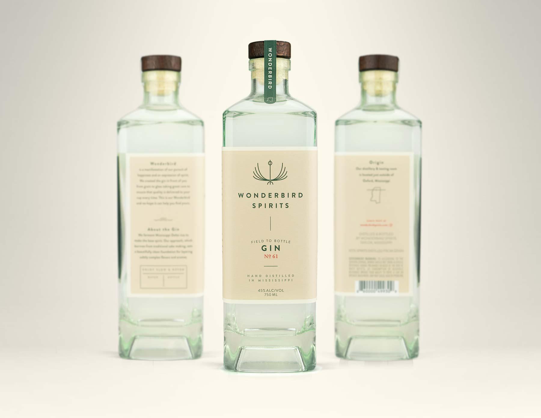 Wonderbird Spirits Distillery Branding — EBBING Branding +