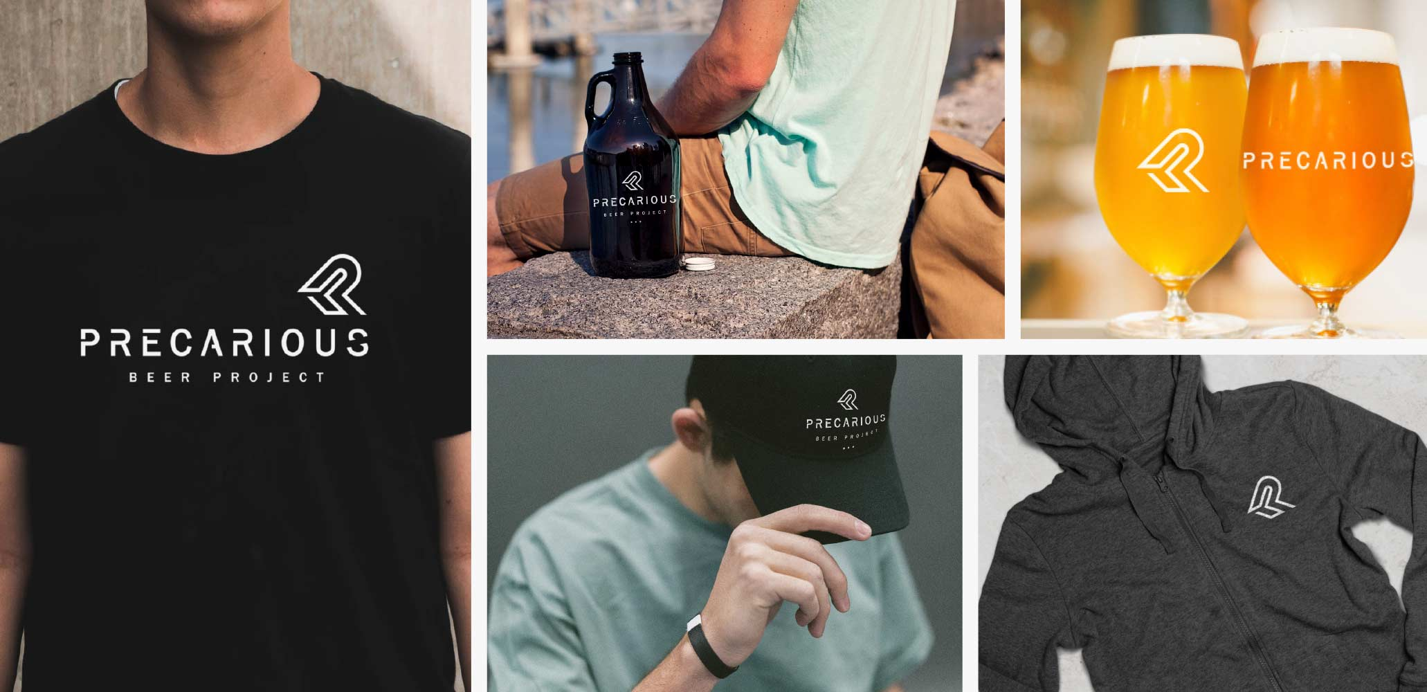 Craft Beer Apparel Design - Precarious Beer Project