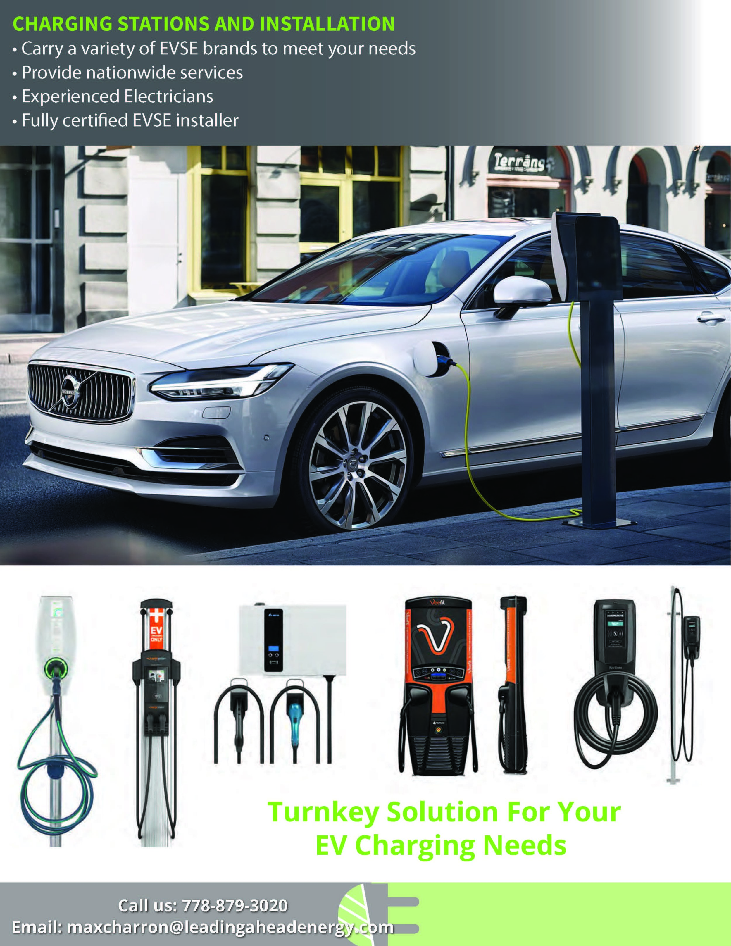 Electric vehicle charging infrastructure municipal