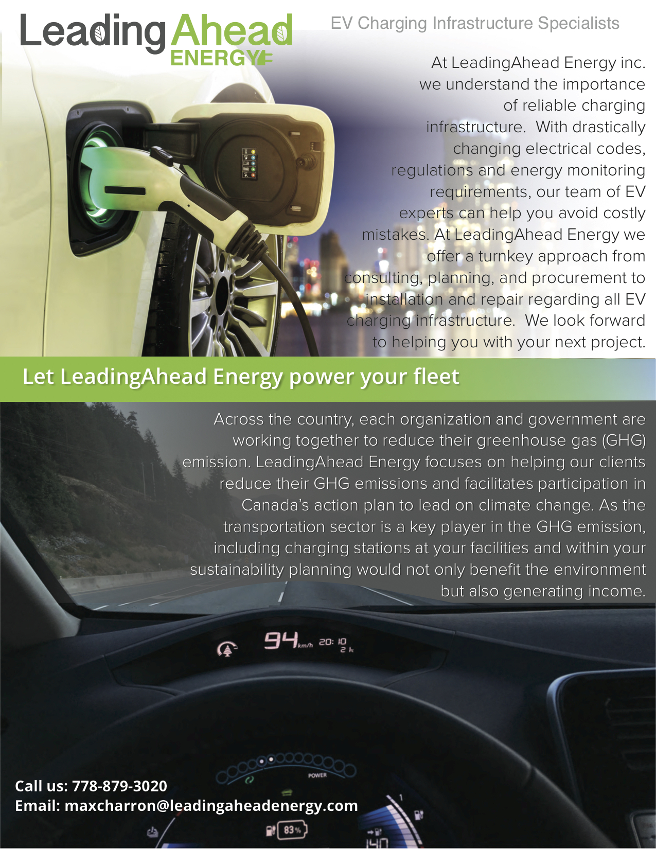 EV Charging solutions carfleet