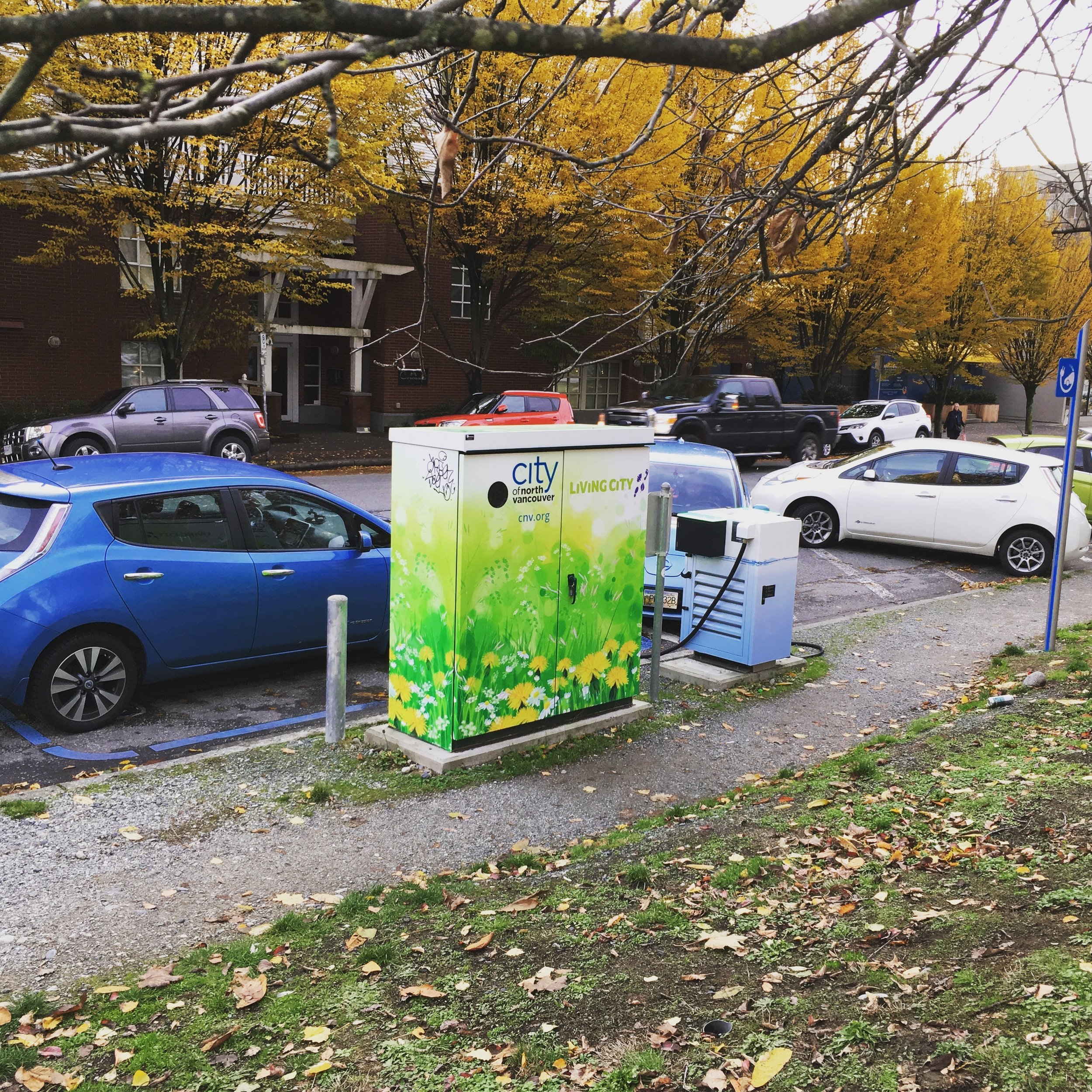 EV DCFC Fast Charger level 3 North Vancouver