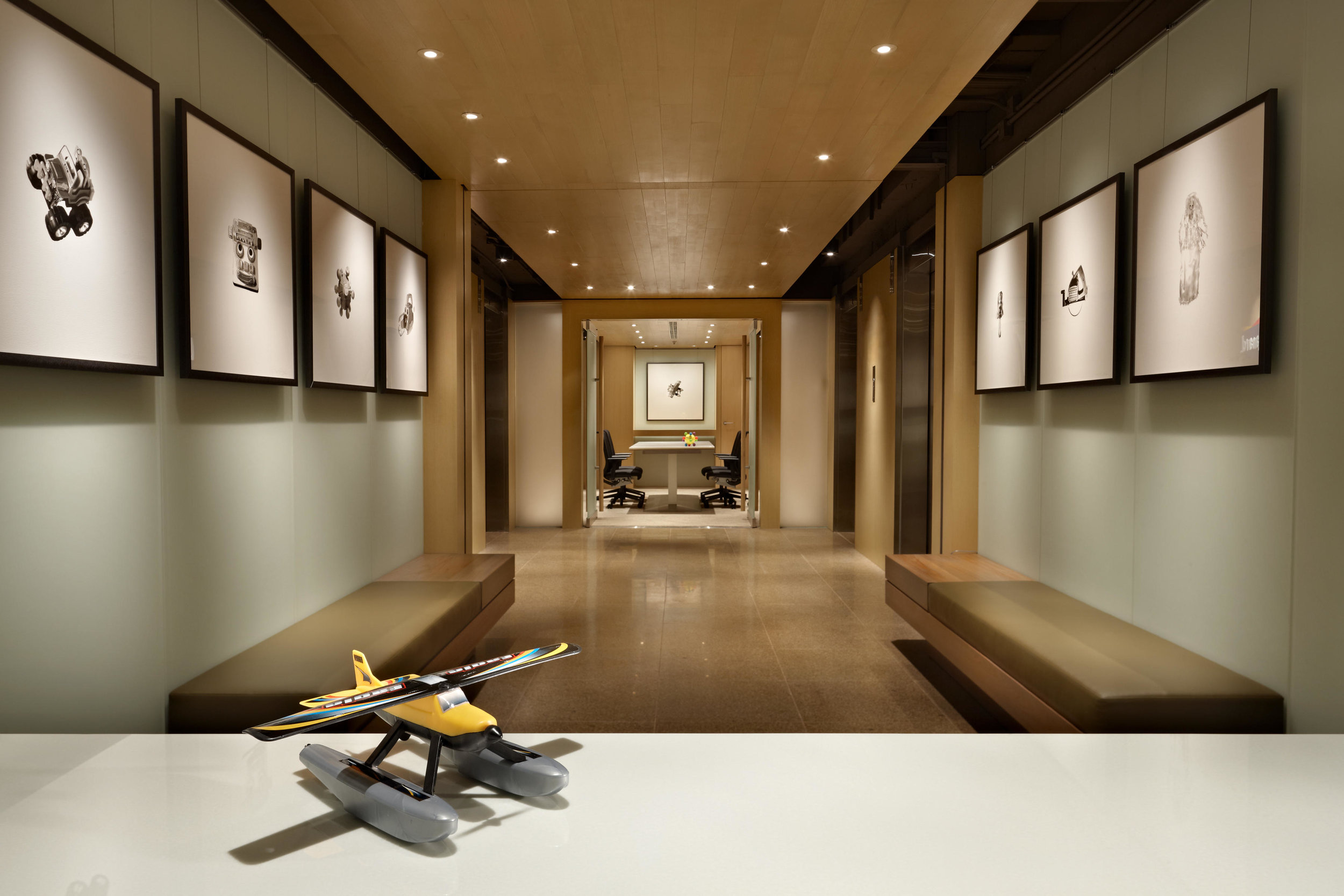 Hong Kong Toy Company Charlie Hellstern Interior Design