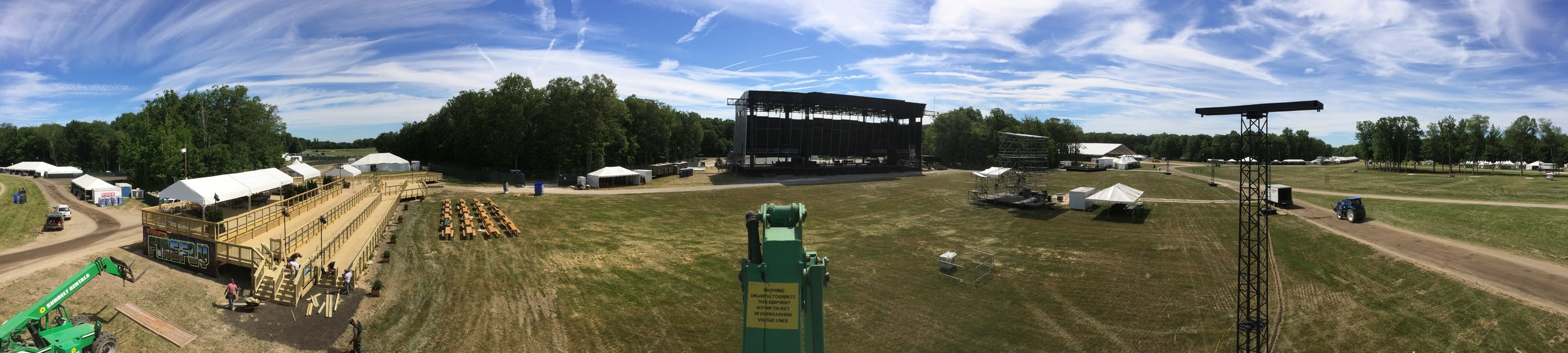 Firefly Music Festival - 2016 (first year of the loft)