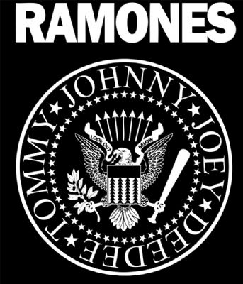 And Erin is wearing a design inspired by The Ramones.