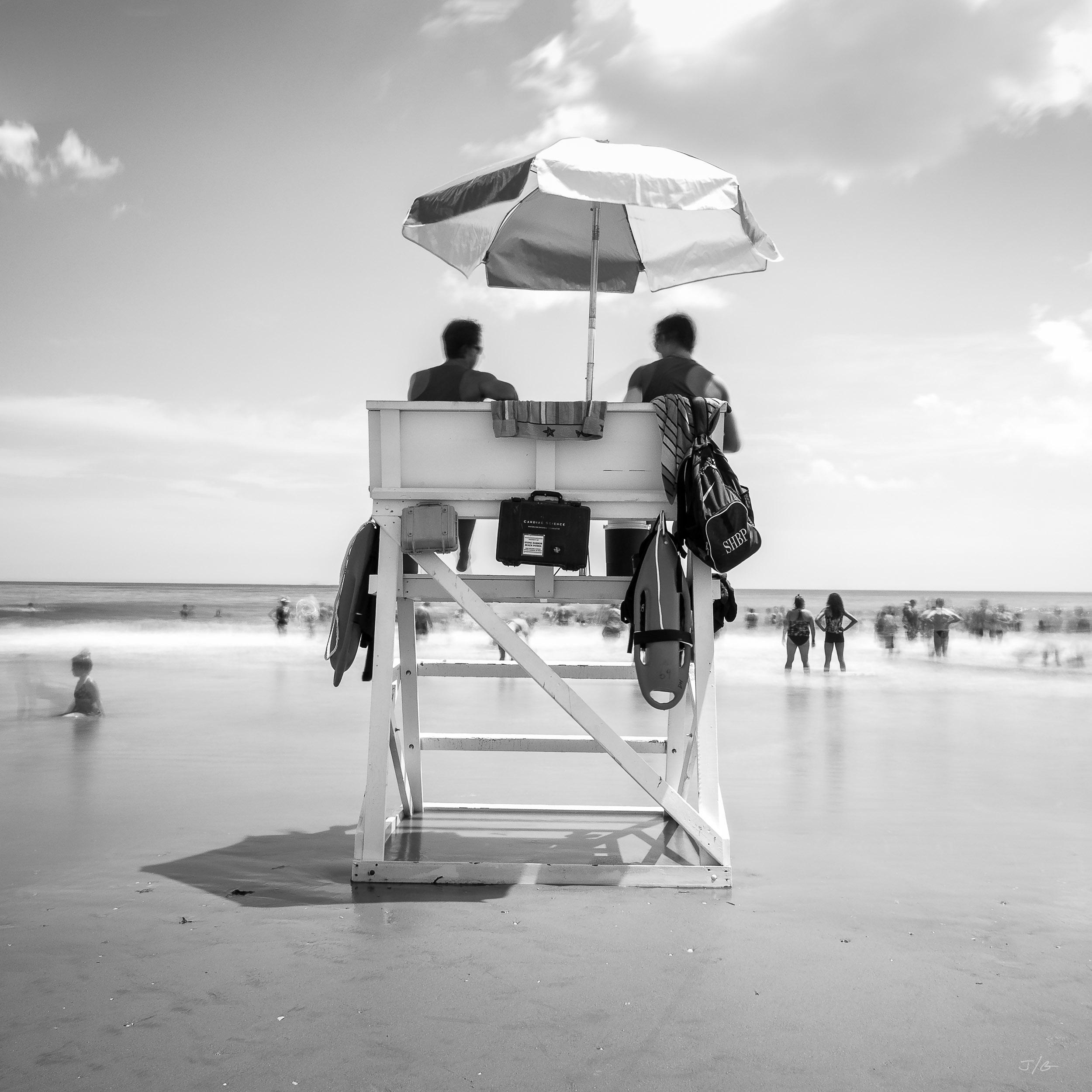 Beach Patrol - Stone Harbor, NJ - ©John Guillaume