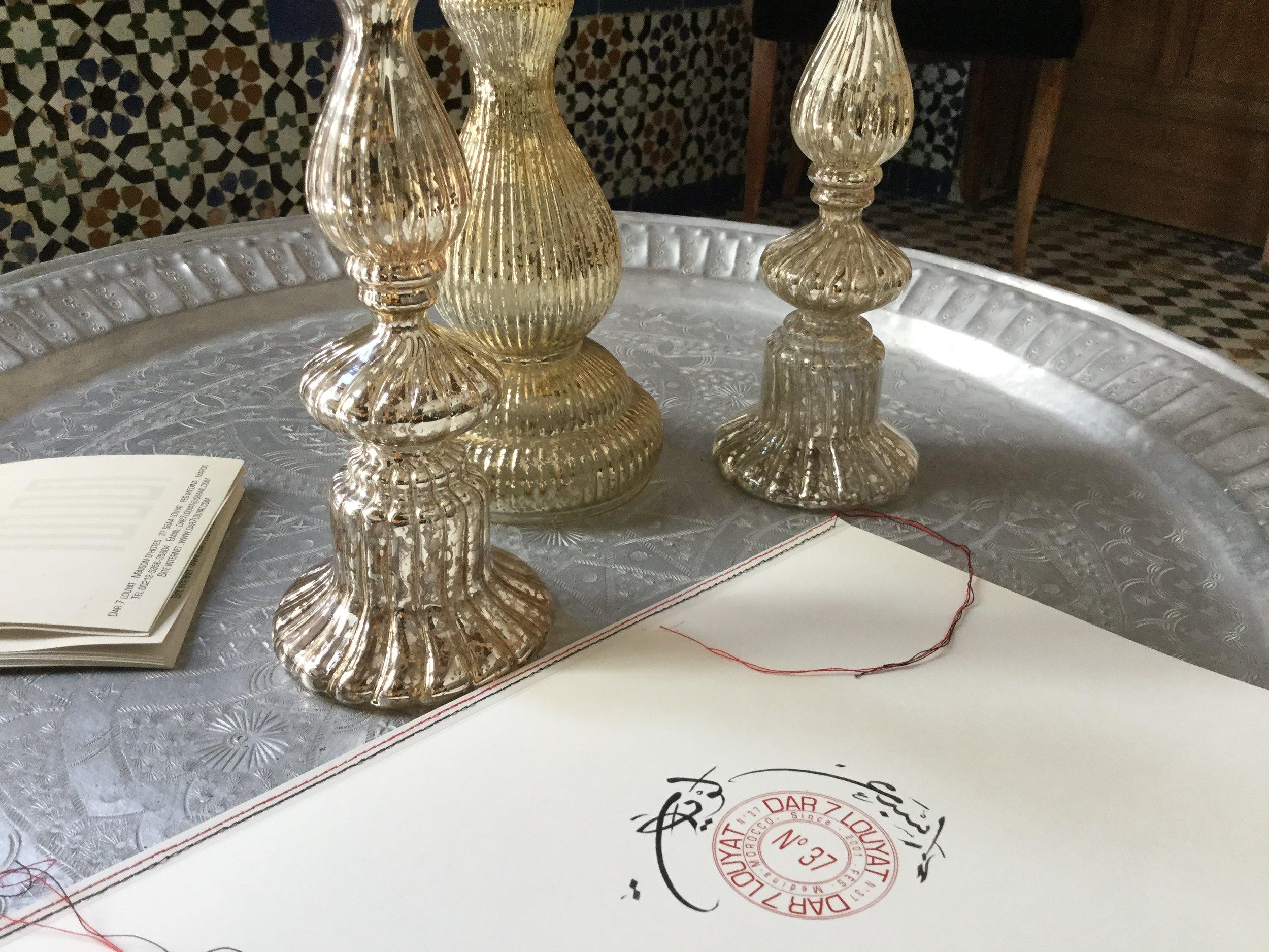 guests book -