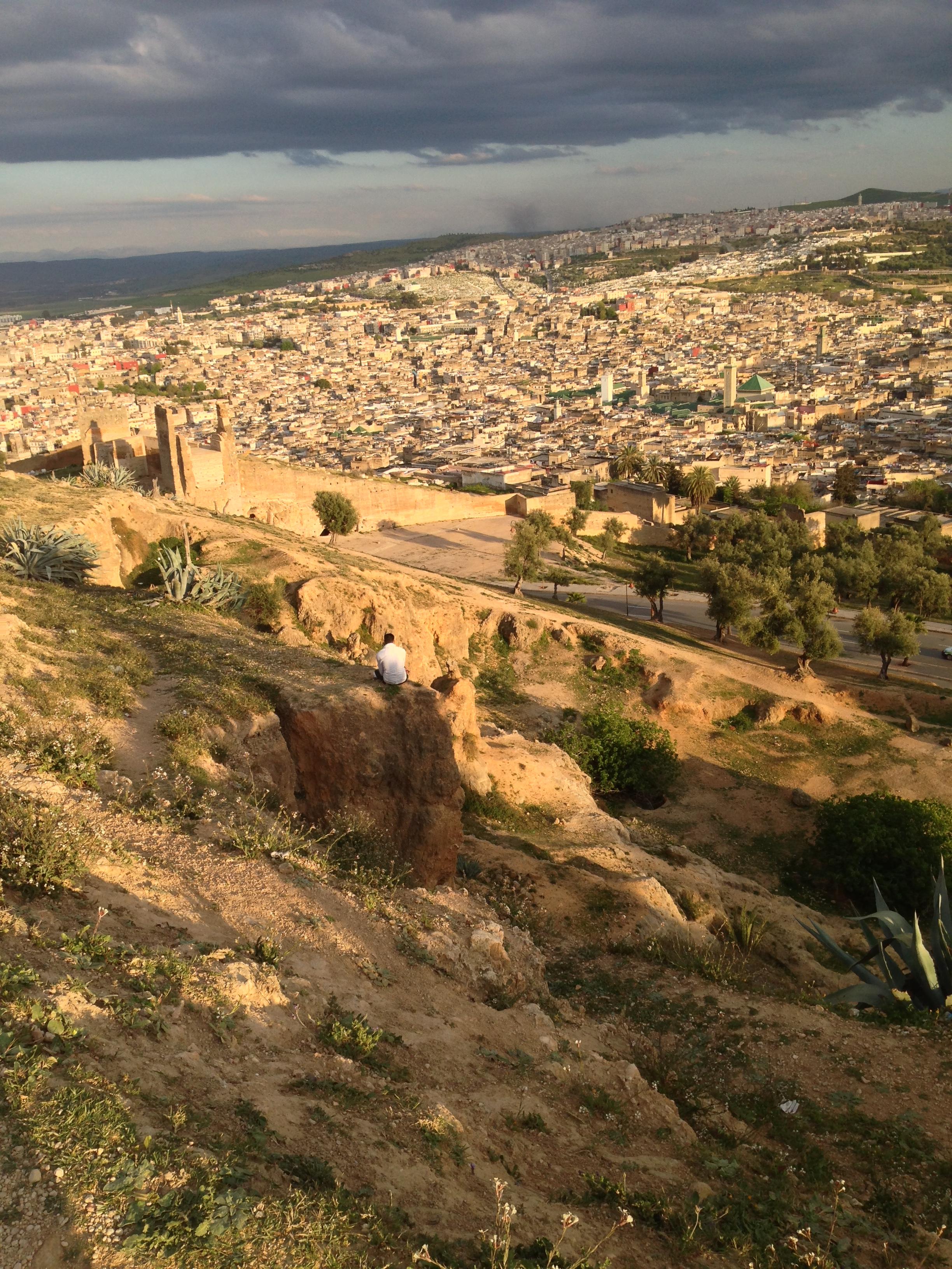 Pleasant walk round the Merinids Tombstones with stunning sight on the Medina of Fez