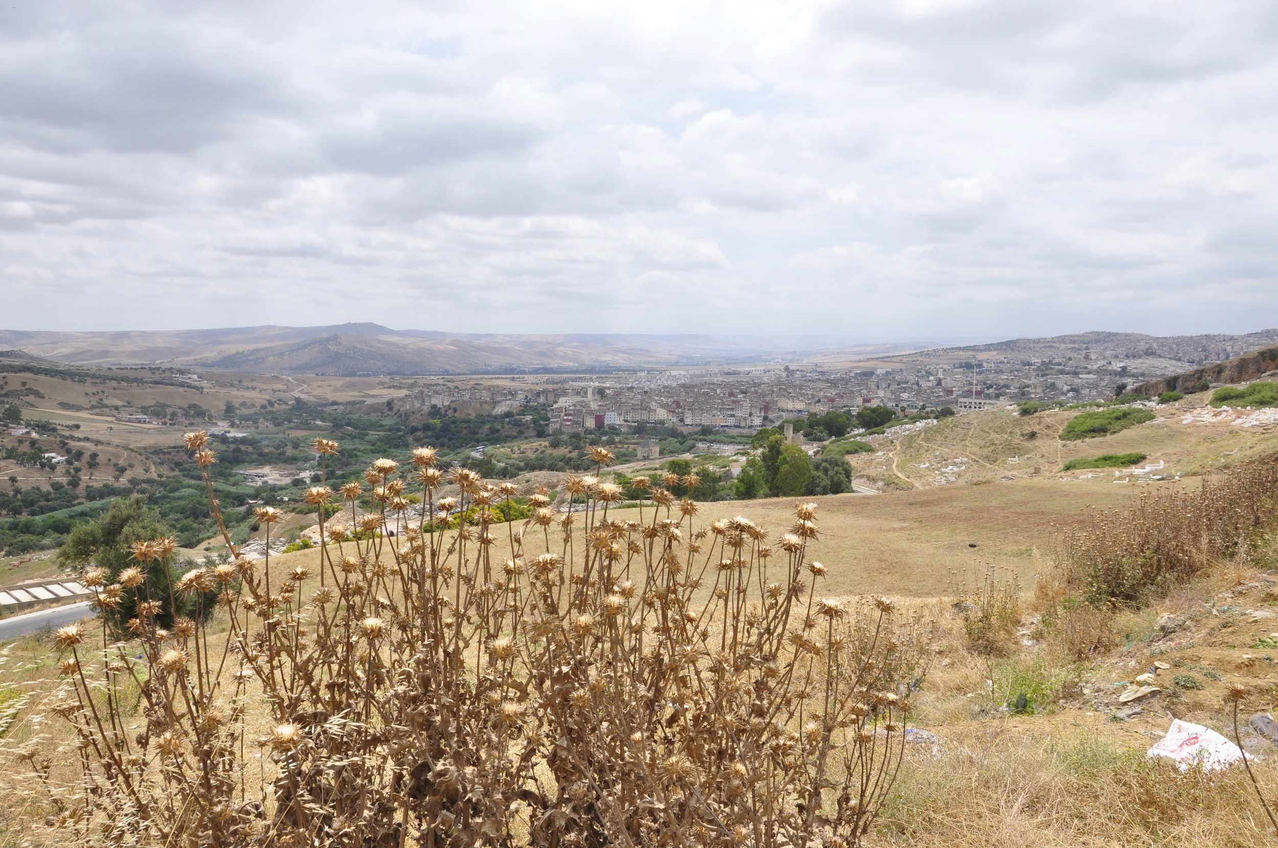 Stunning views from the mount Zalagh