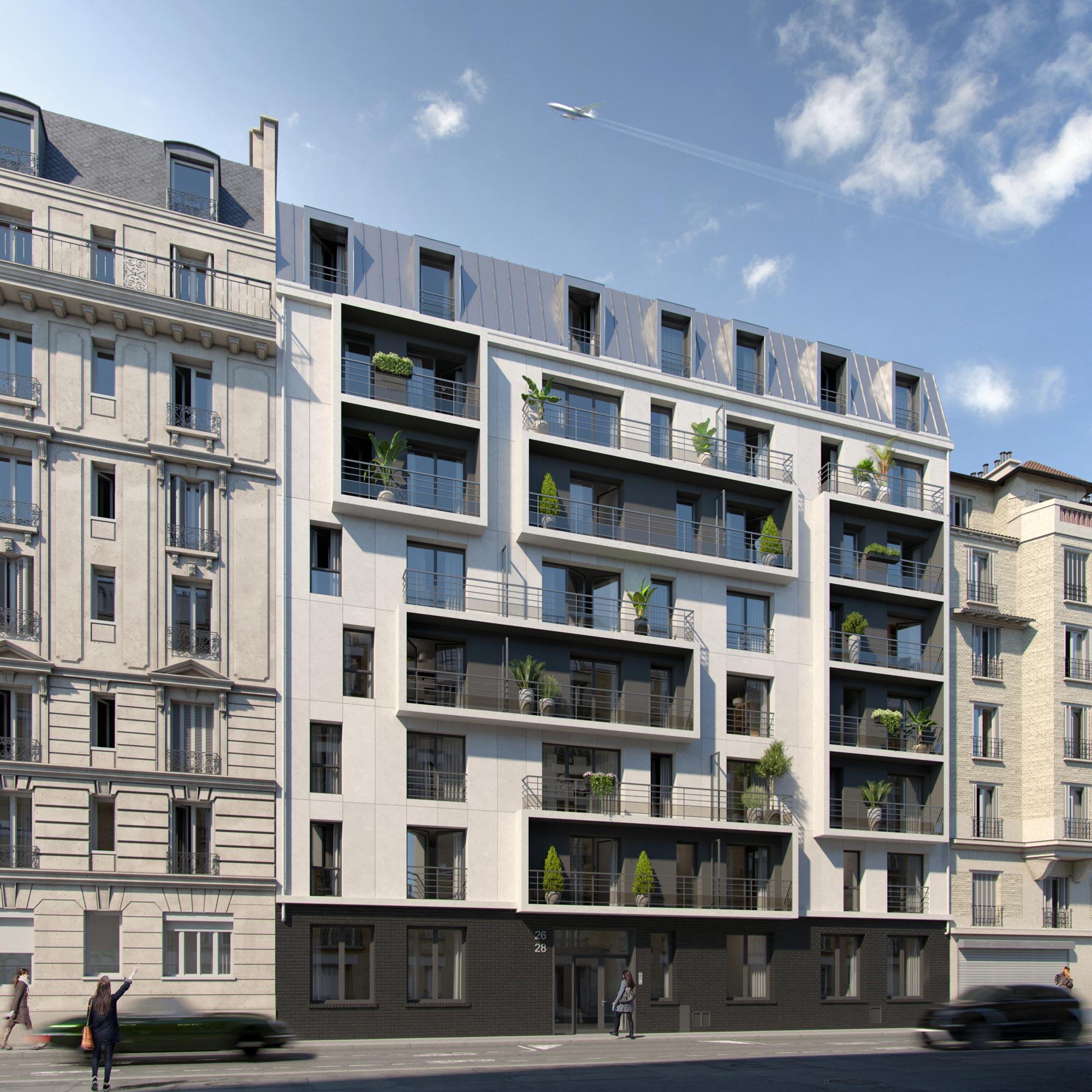 Apartment Building | France