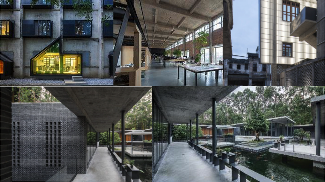 Jiangxin He & Ying Jian - Built Works