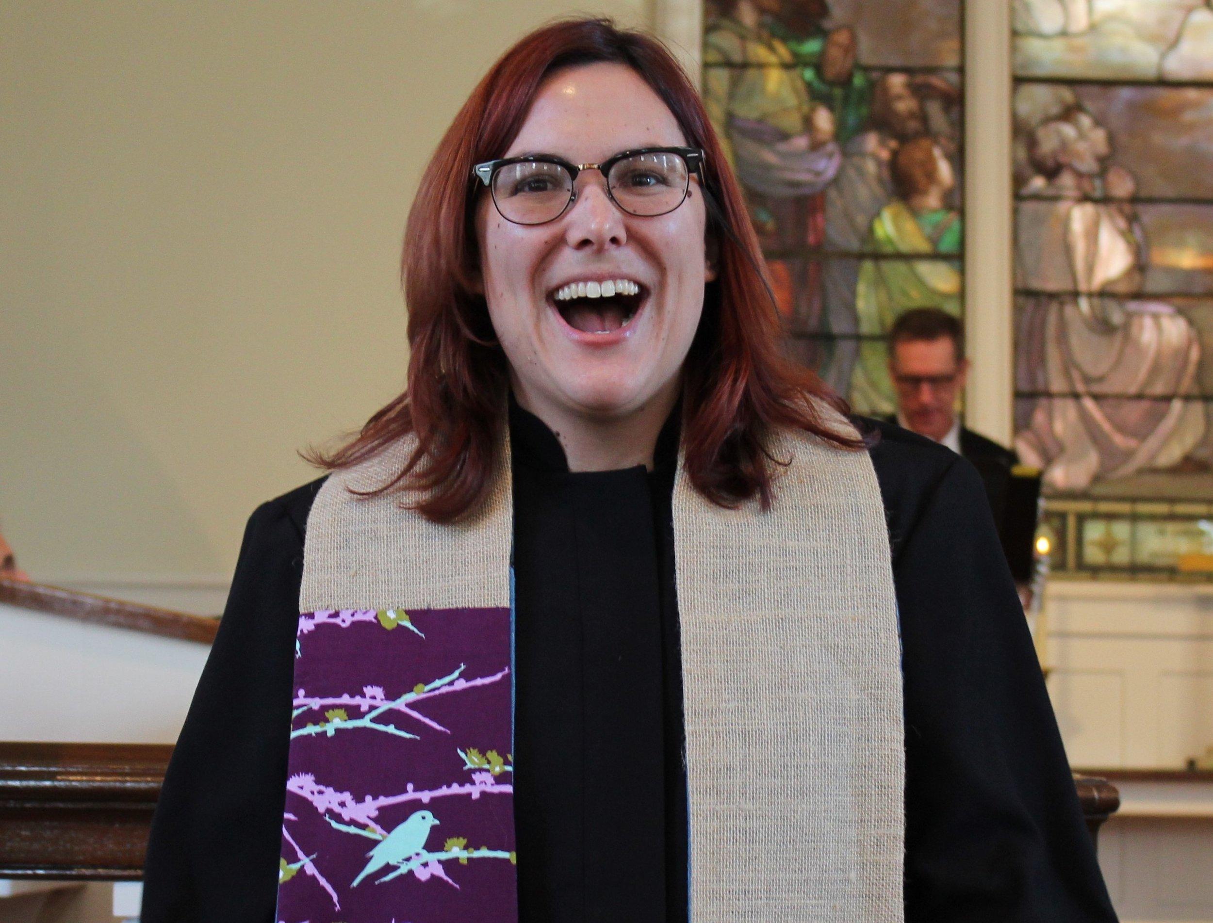 Rev. Megan Cullip  Associate Minister for Youth