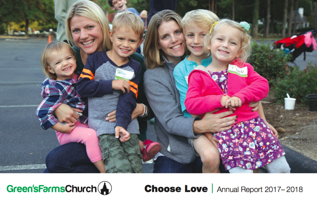 Choose Love - The 2017-18 Annual Report is now available - click here to read about our year, and where we're going. As Rev. Jeff Rider writes in his introduction: