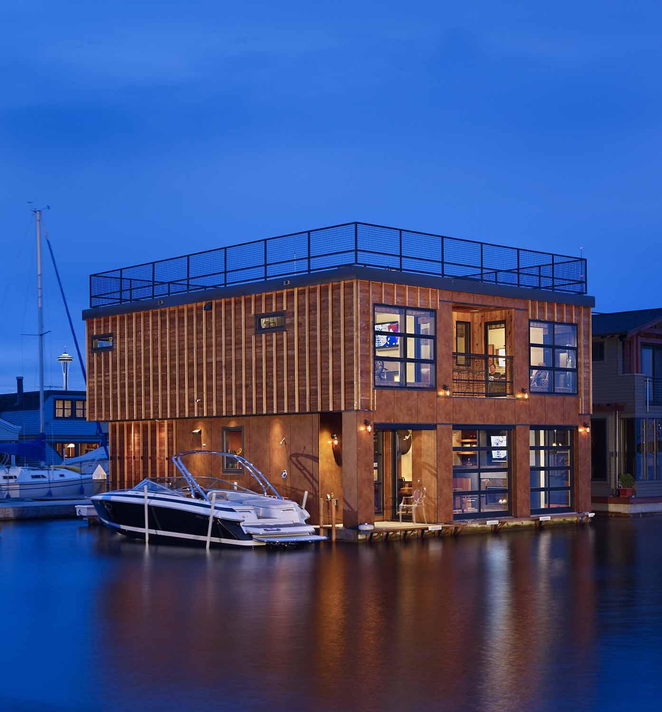 LAKE UNION FLOAT HOME | Seattle, WA