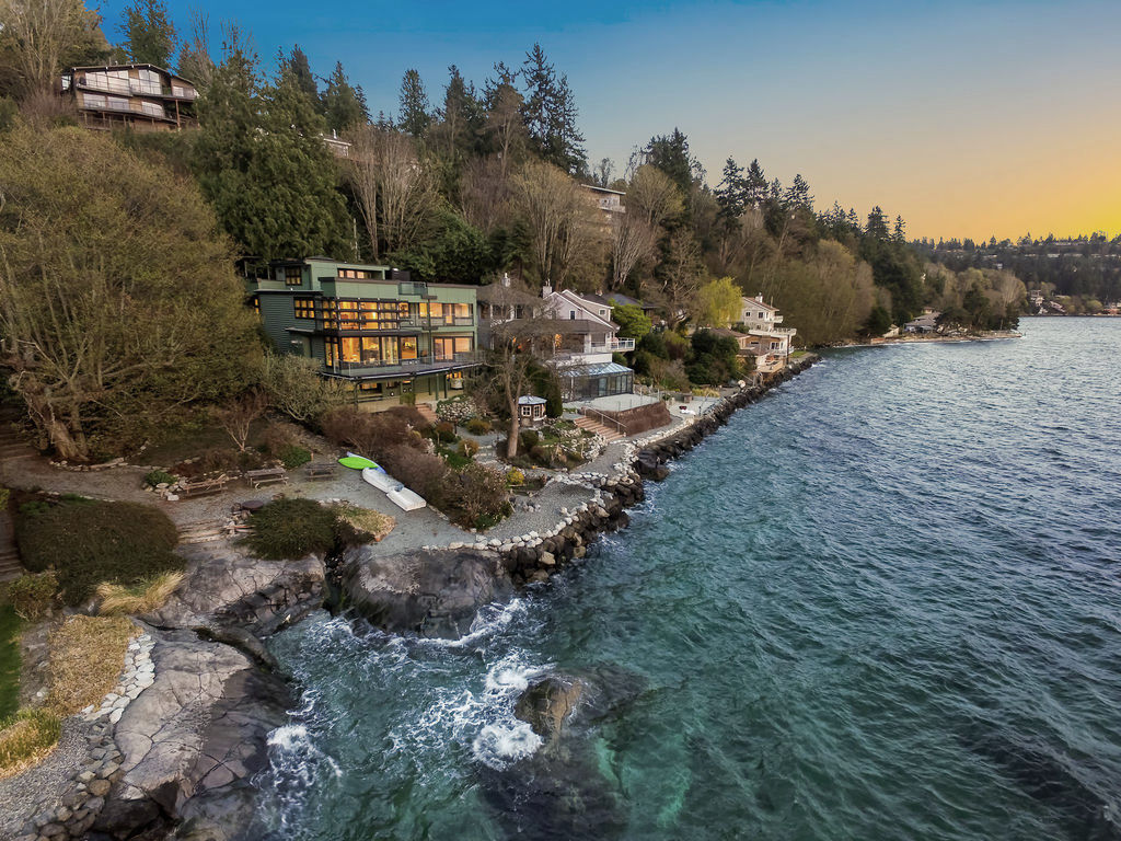 SEAHURST WATERFRONT RESIDENCE | Seattle, WA