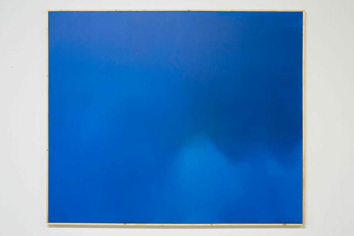Nick Farhi - Bass Rankin Cloud No. 1, 2014 - Oil on canvas, 72 x 60 IN
