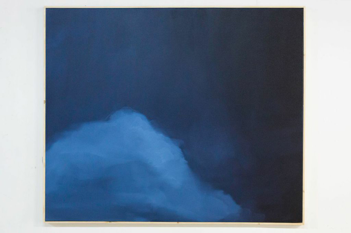 Nick Farhi - Moonkissed a Spirit in, 2014 - Oil on canvas, 72 x 60 IN