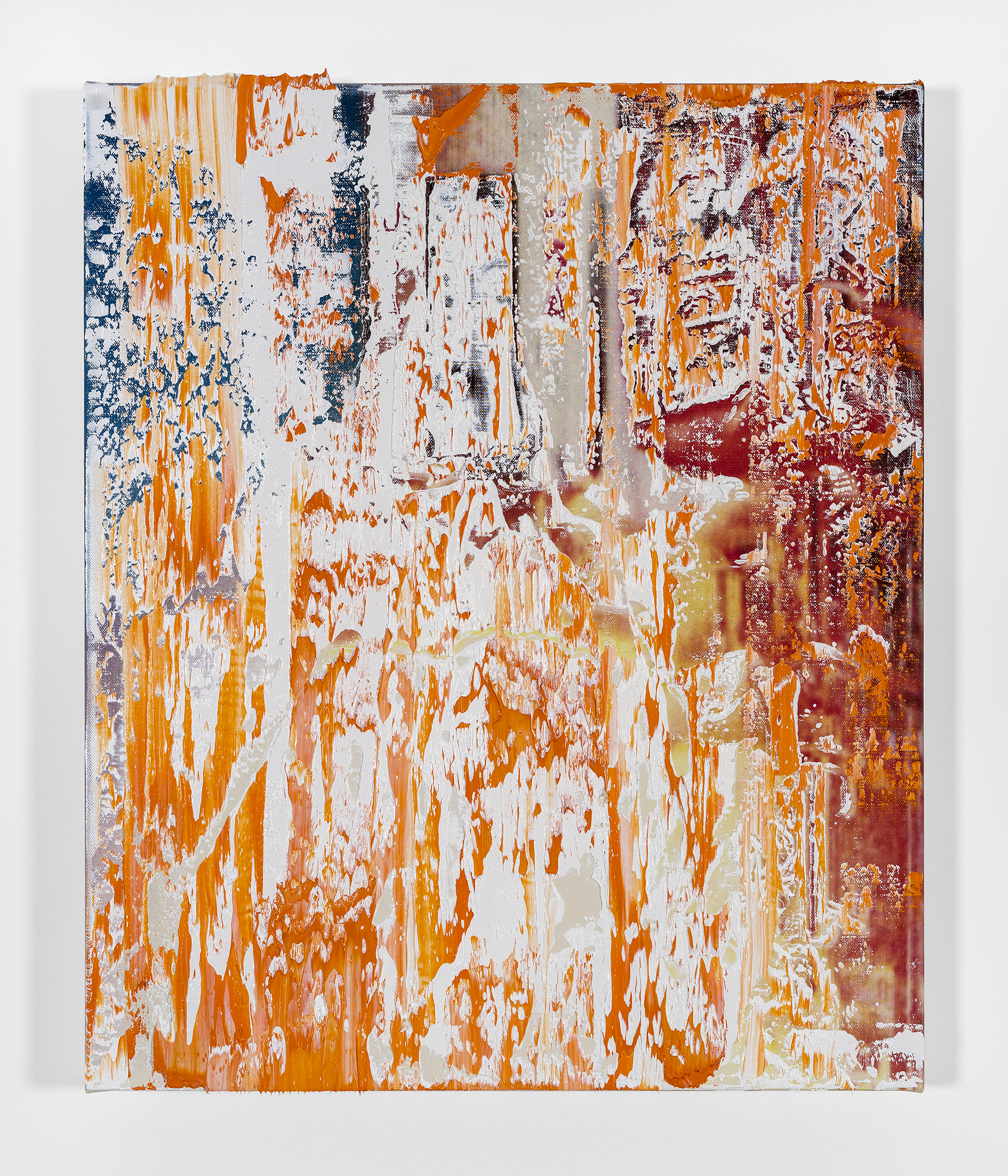 Michael Kagan  Boom Shakalaka 4, 2018  Oil on linen  24h x 20w in  60.96h x 50.80w cm  MK018