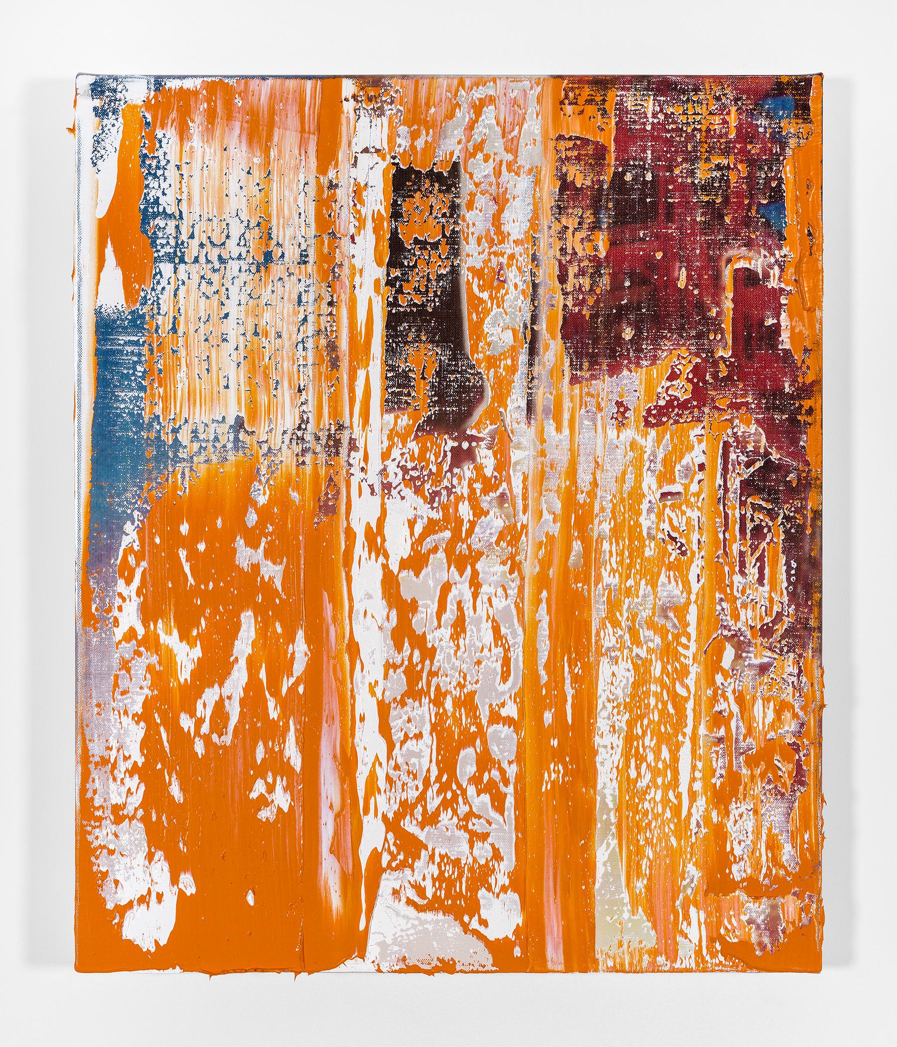 Michael Kagan  Boom Shakalaka 5, 2018  Oil on linen  24h x 20w in  60.96h x 50.80w cm  MK019