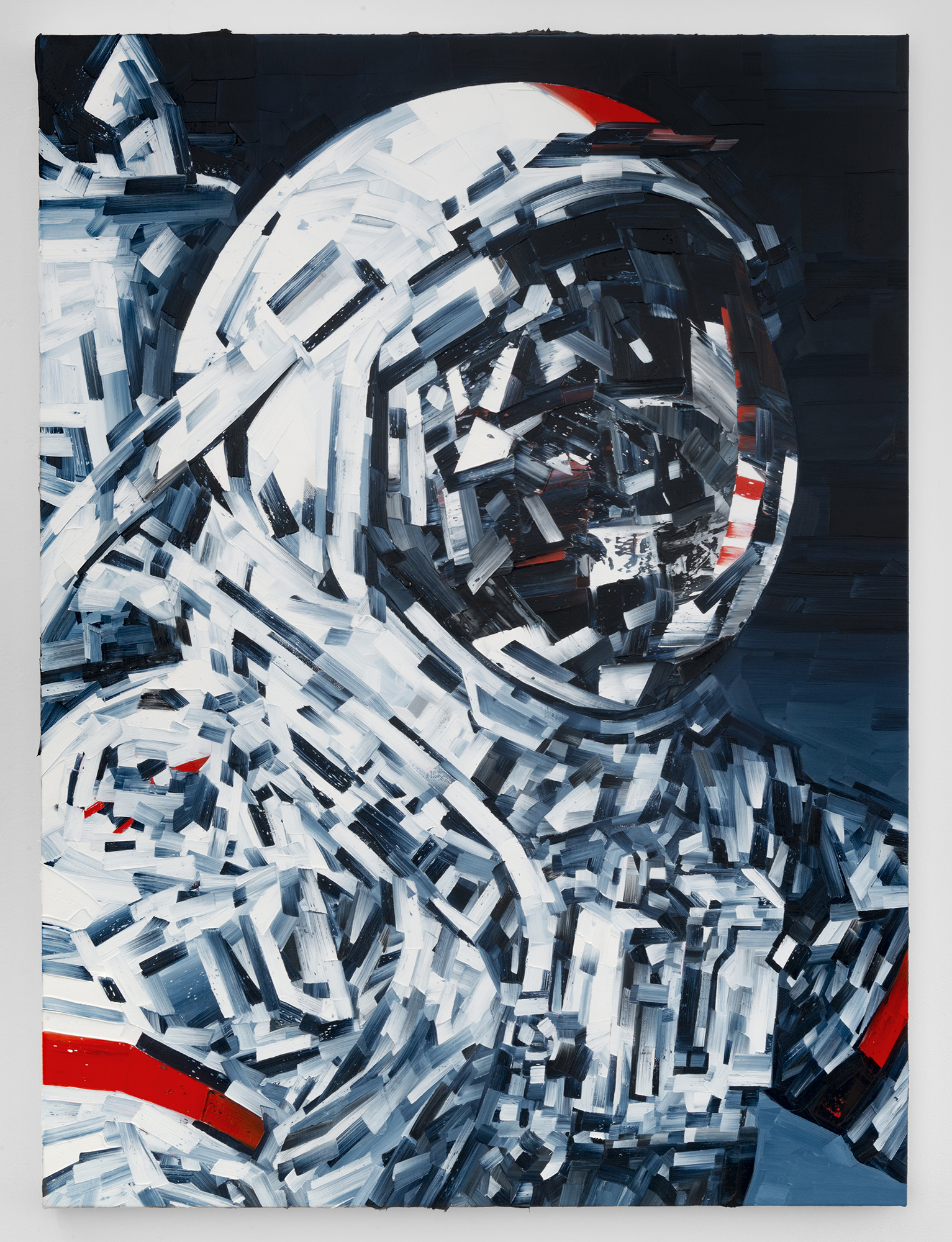 Michael Kagan  Cernan, 2018  Oil on linen  40h x 30w in  101.60h x 76.20w cm  MK004