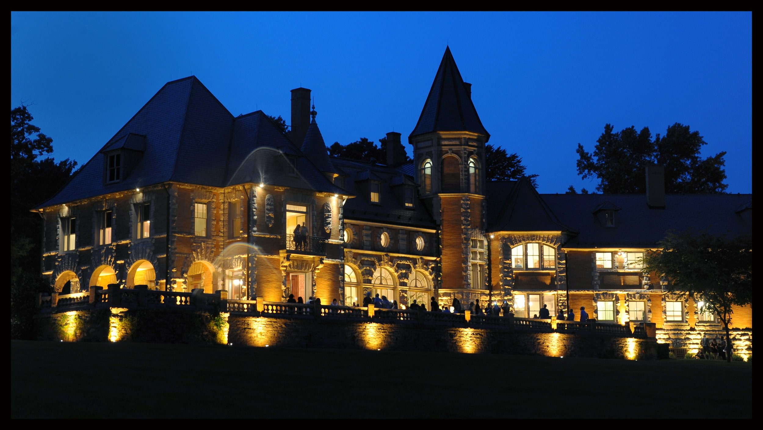 Cairnwood Estate at night
