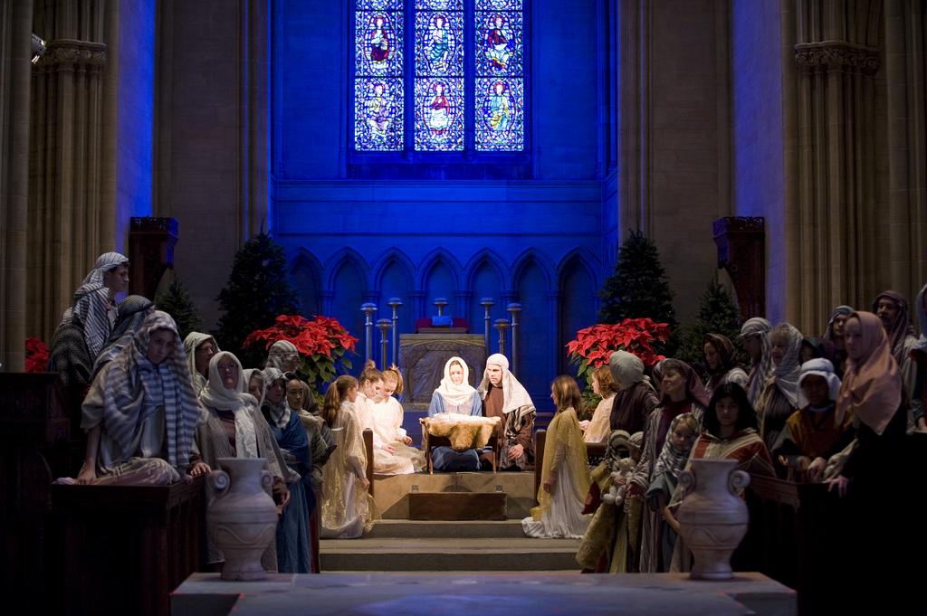 The Christmas Pageant at the Bryn Athyn Cathedral