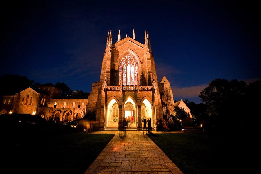 Bryn Athyn Cathedral, west side