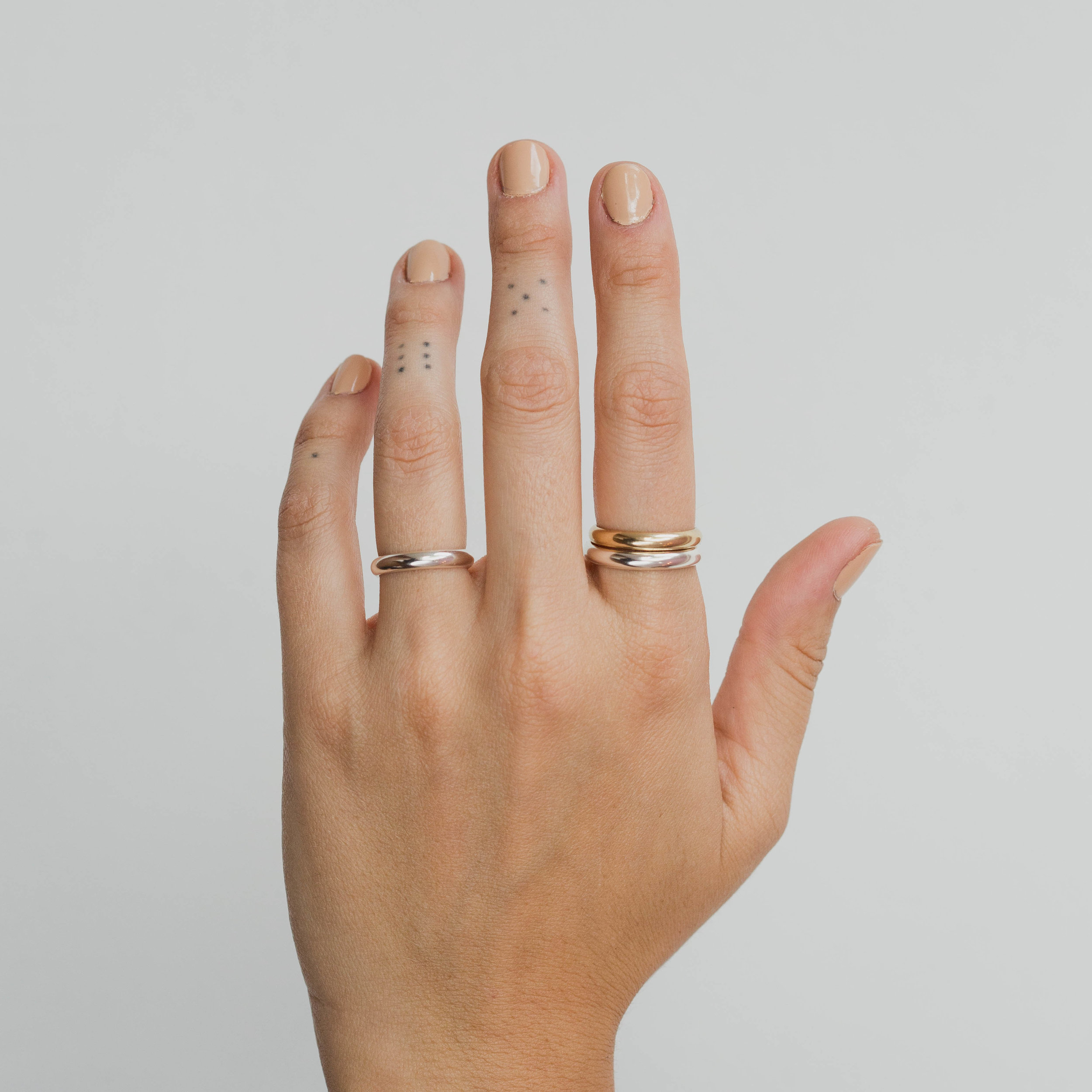 ONE SIX FIVE CHUNKY STACKING RING