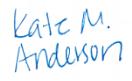 Kate Manofsky Anderson
