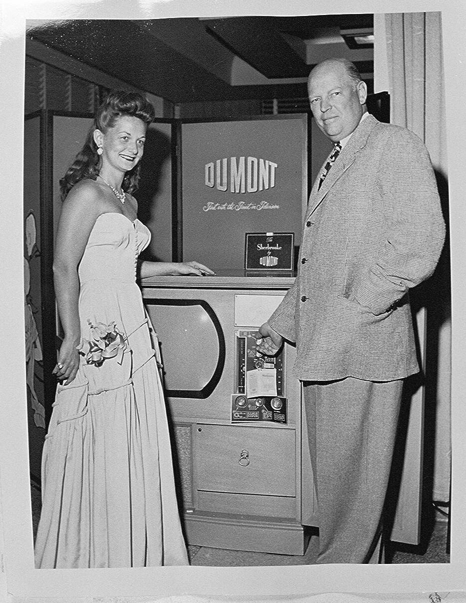 Allen B. Du Mont, circa 1950.