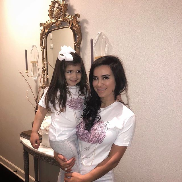 Mommy and Me matching JLF Fleur tees 💓 Use code JLFLEUR for 25% off 💓www.Tovmali.com #mommyandmini #cutetees