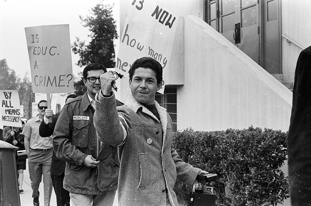 Photograph by La Raza Photographic Staff. East L.A. High School Walkouts. 1968