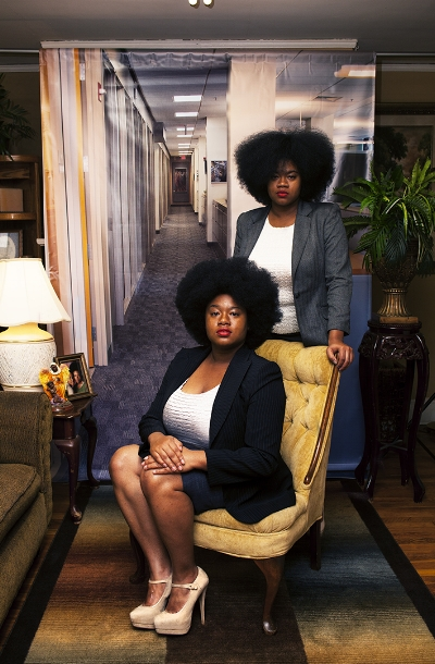 """Endia Beal, Sabrina and Katrina, 2015, from the series """"Am I What You're Looking For?"""""""