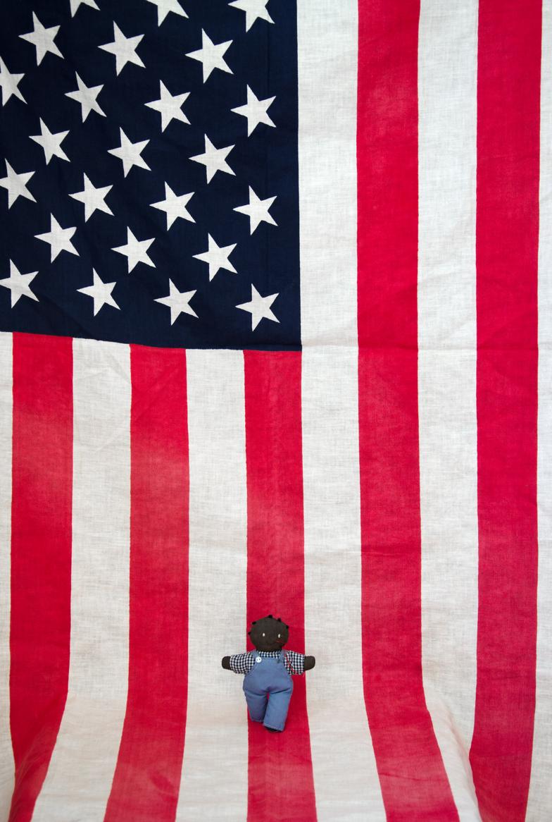 Ouidakathryn Bryson, Flag Baby , 2016