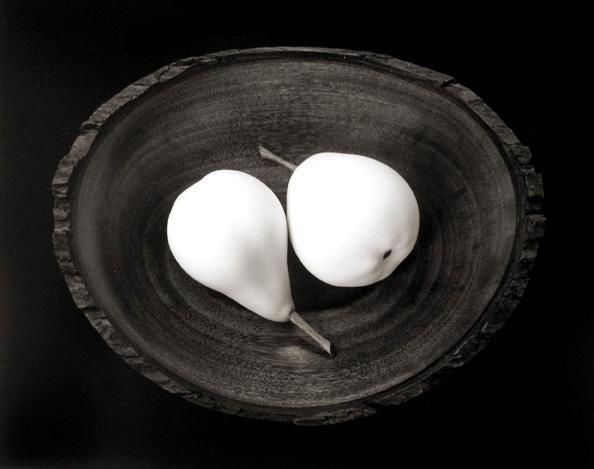 Paul Caponigro, Two Pears, Cushing, Maine , 1999. © Paul Caponigro.
