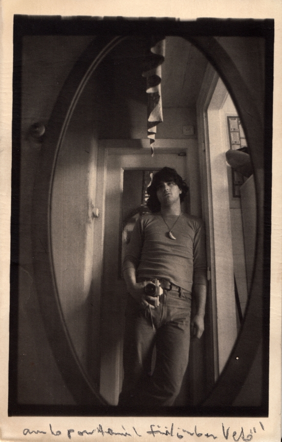 János Vető, Self-Portrait in Mirror, 1973