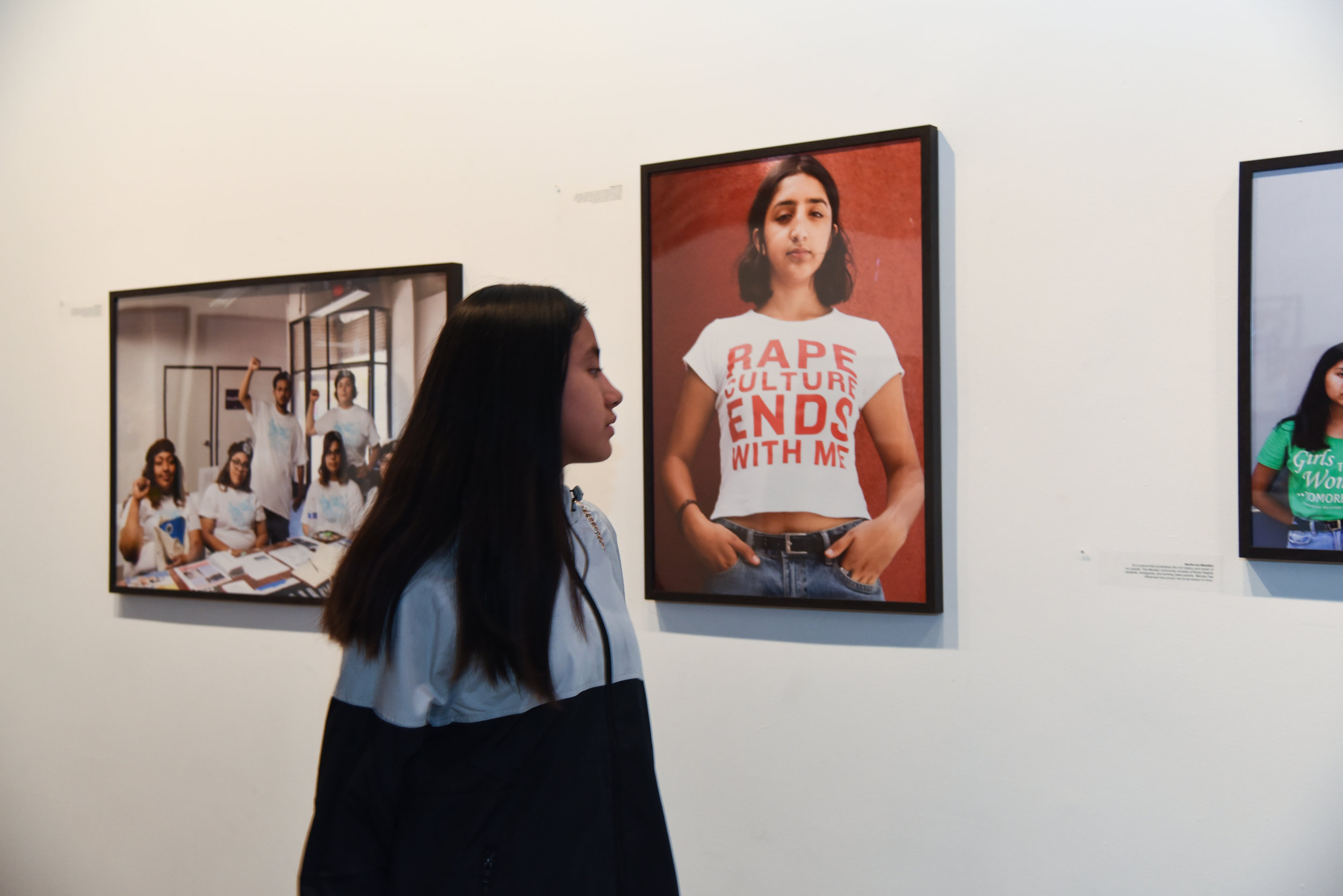 fabiola lopez, from the opening of  thank you east los, 2018