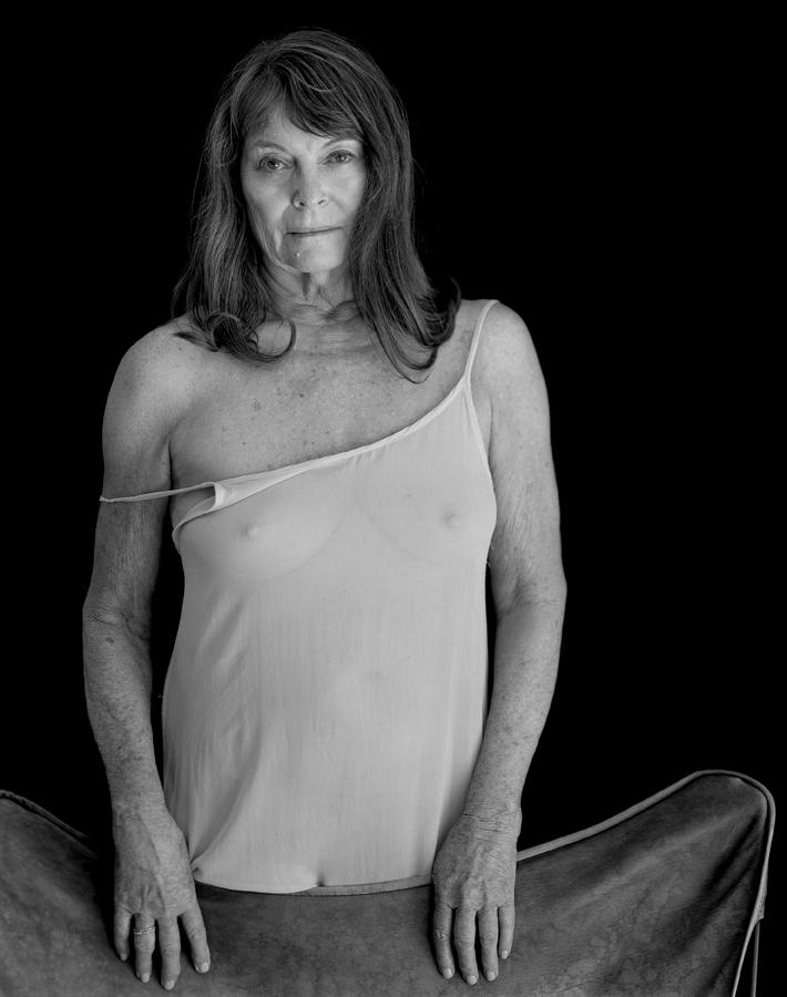 Woman in a White Slip (Twinka),  2016