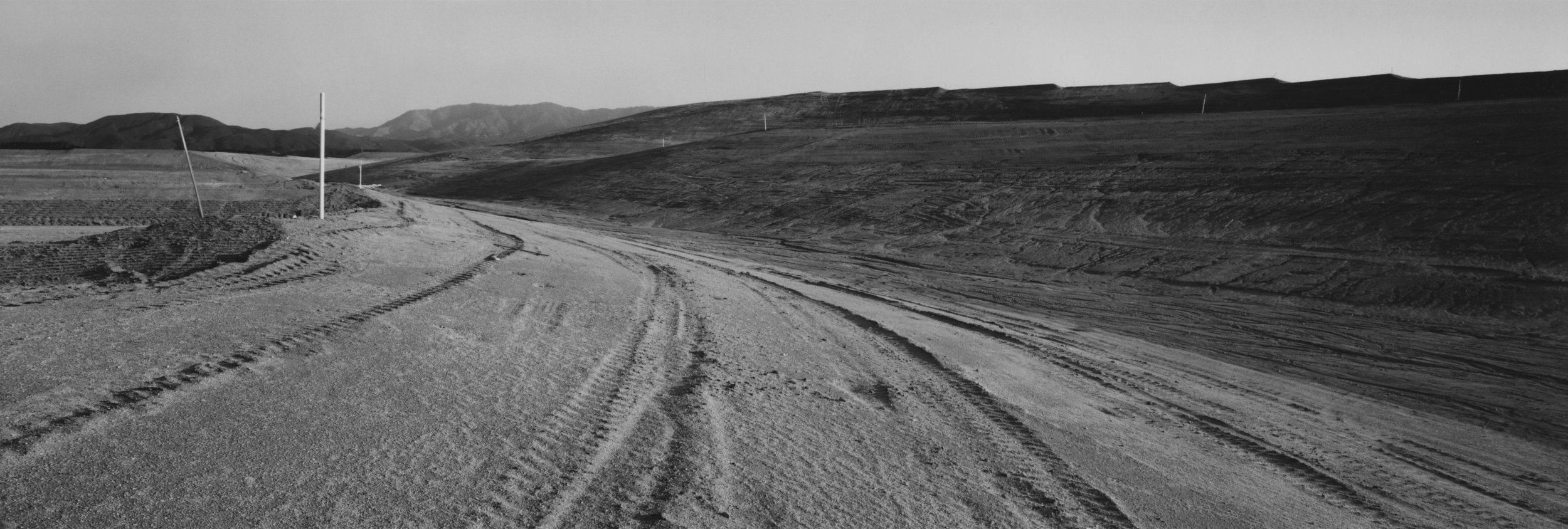 Laurie Brown, Recent Terrains #8, 1991, Gelatin silver print, 34 x 49 inches, Courtesy of the artist.