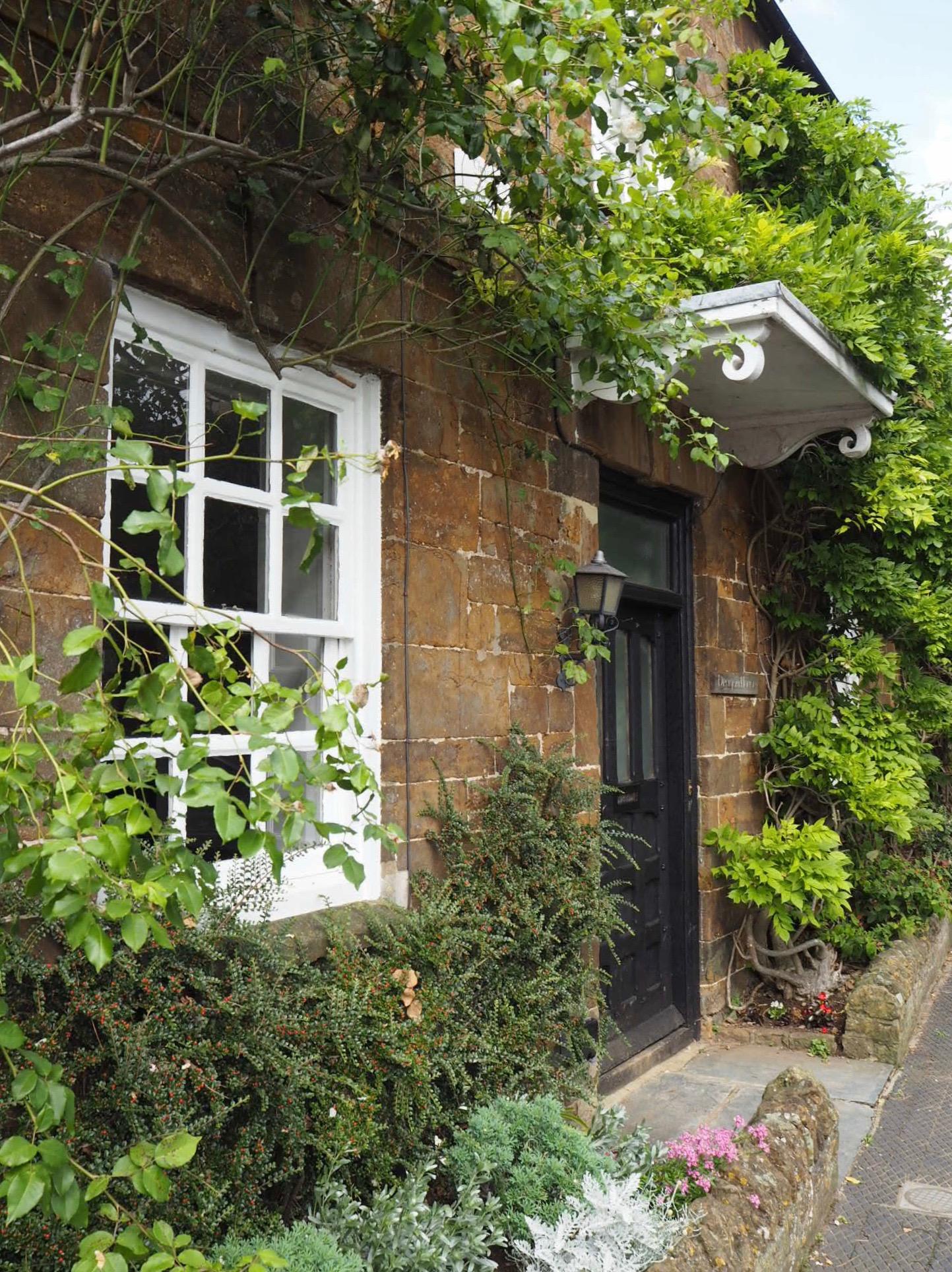 A typical doorway in Deddington.