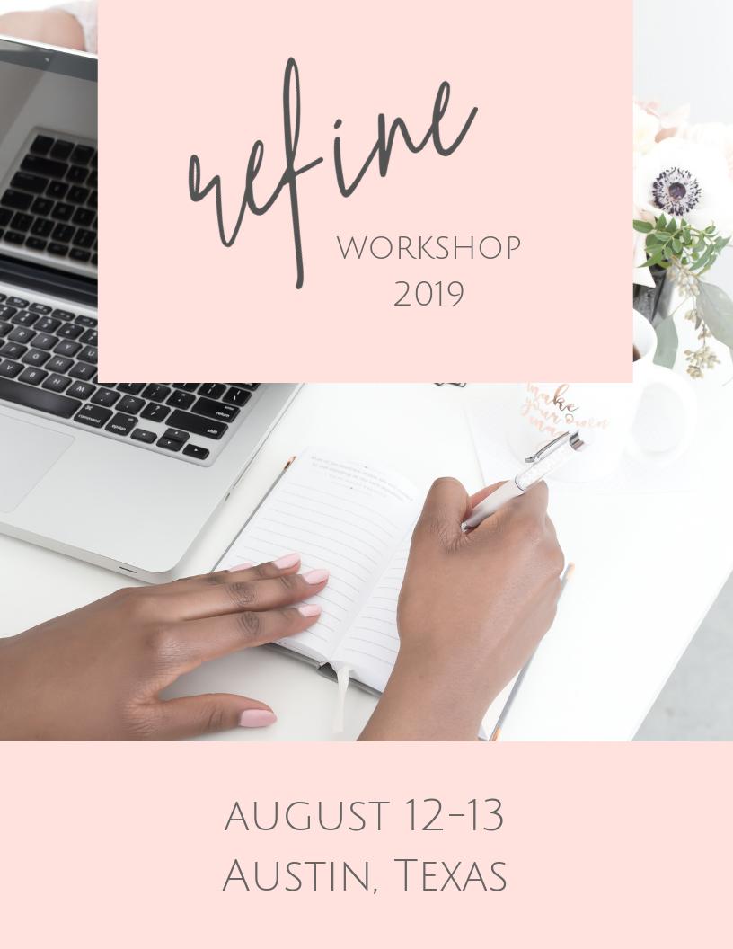 wedding planner workshop