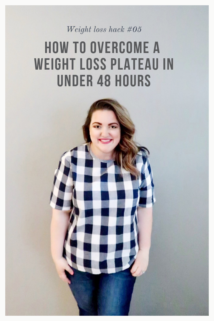 How to Overcome a Weight Loss Plateau in Under 48 Hours     This month I had to learn a few hard lessons and I want to let you in on some secrets I learned along the way. I'm going to share the trick that helped me bust through a plateau in under 48 hours. Give you a little insight into eating for your body type. And talk to you a bit about bullies.     Simply Home