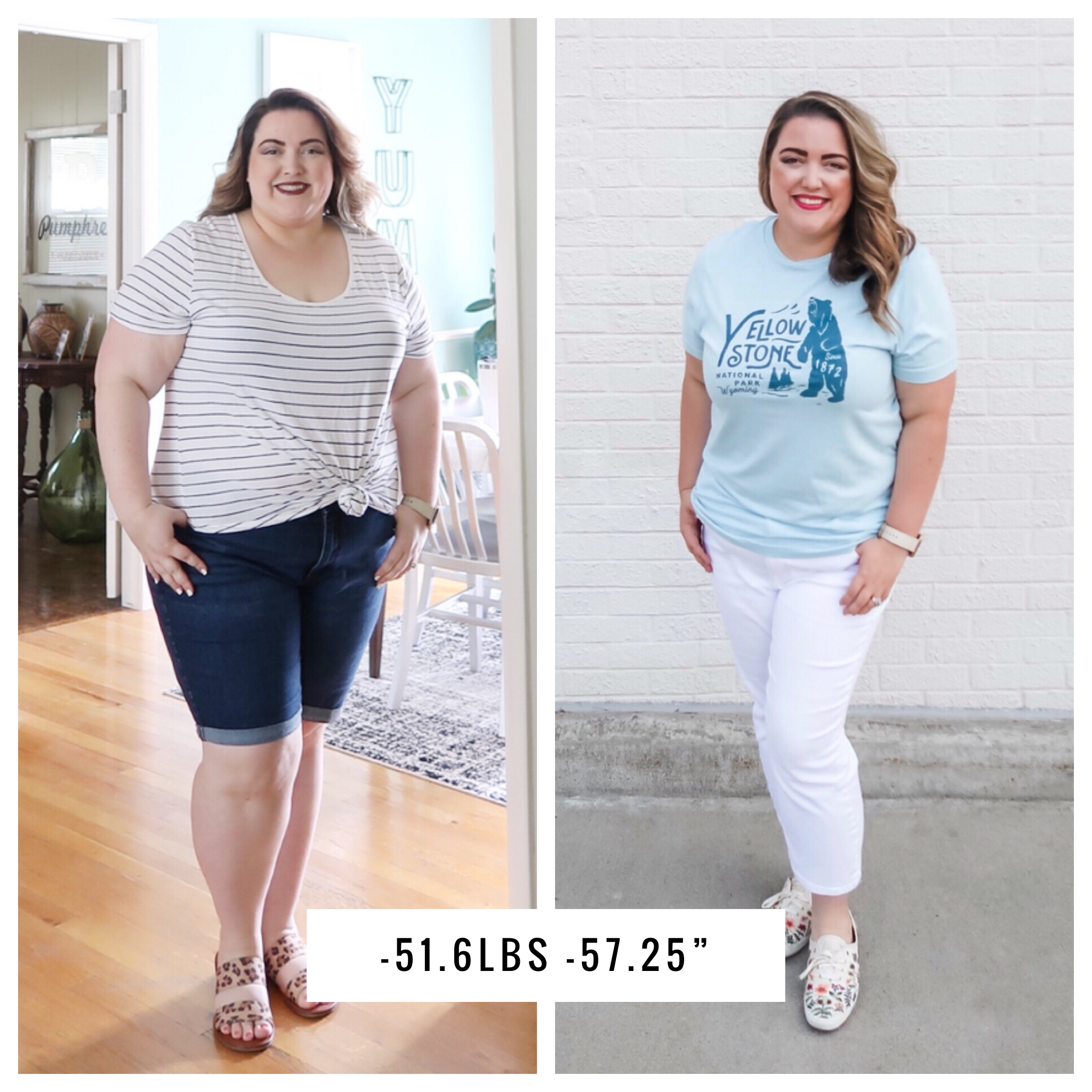 Losing 50 Pounds - Before and After
