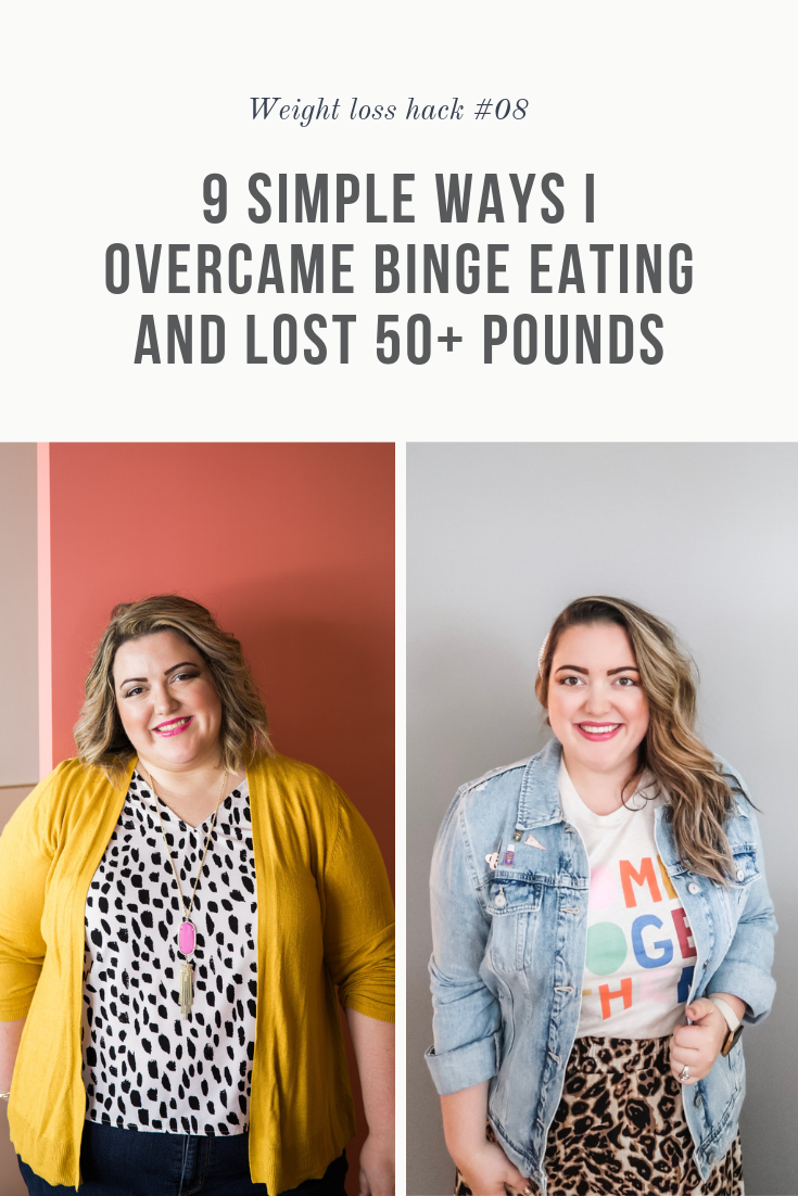 I'm a binge eater. And a secret eater. And I'm really good at hiding it.  |  9 Simple Ways I Overcame Binge Eating and Lost 50+ Pounds  |  Simply Home