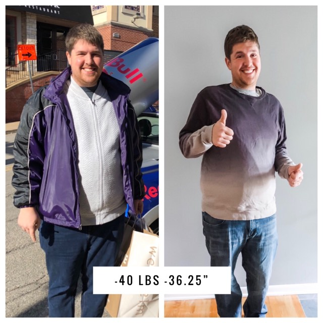Jared Pumphrey - Life Setbacks - Lose 40lbs - September