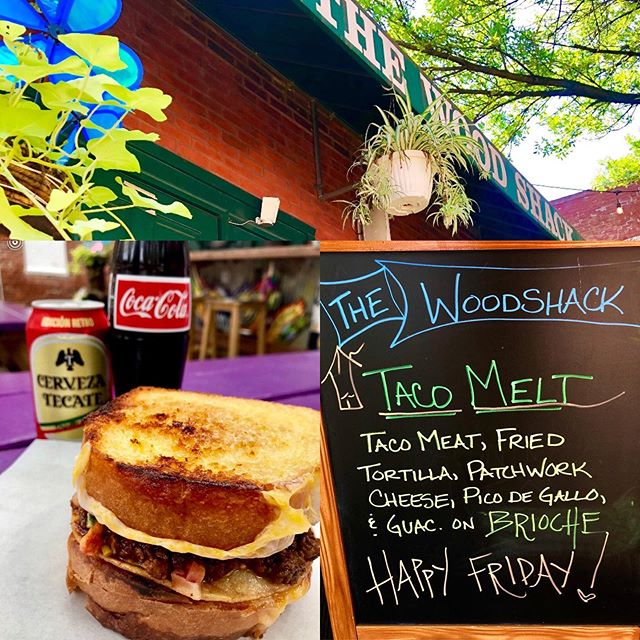 Happy Friday!! @woodshacksoulard @cdelgado63117 #woodshackstl #yummy #sandwich #yes #please 👍