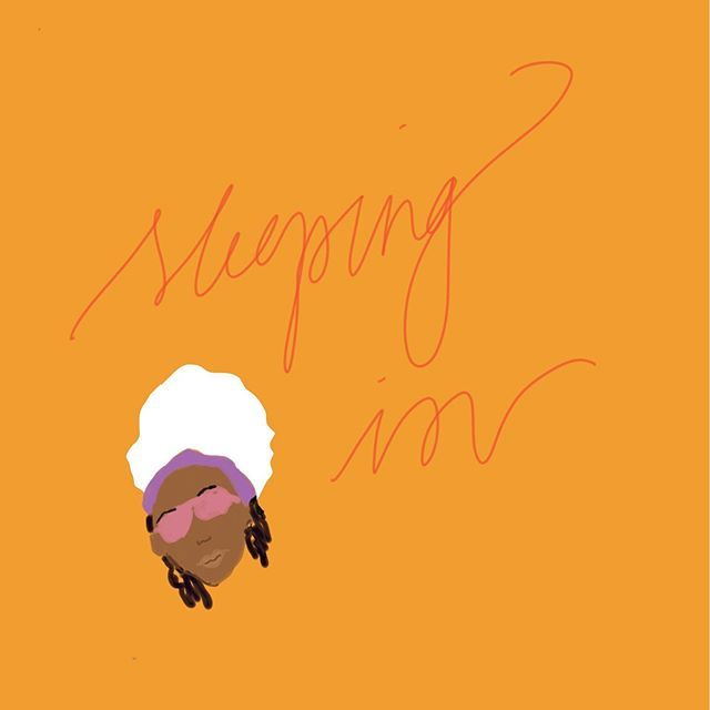 | Ummm, what time is it? #sleepingin #saturday